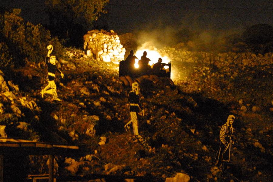 Dolina dei Bersaglieri - Luci e Ombre