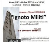 Omaggio a Filippo Corridoni di Lucio Fabi