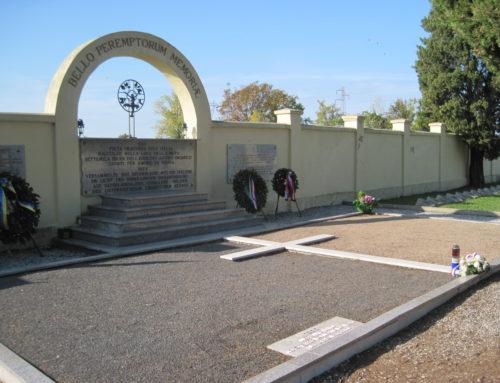 11 novembre al Cimitero Austro Ungarico di Fogliano