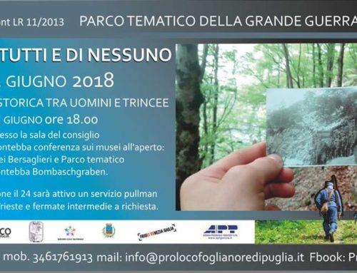 TERRA DI TUTTI E DI NESSUNO 23-24 giugno 2018