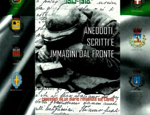"""Presentazione del libro """"1915-1918 Anedotti, scritti e immagini dal fronte"""" di Luigi Damiano"""